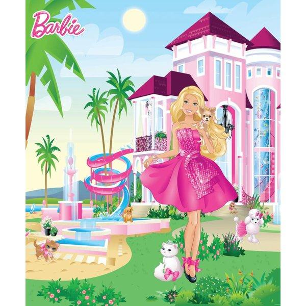 Dutch Wallcoverings Walltastic Disney Barbie fotobehang