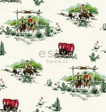 Esta for Kids Everybody Bonjour Cowboys behang 128718