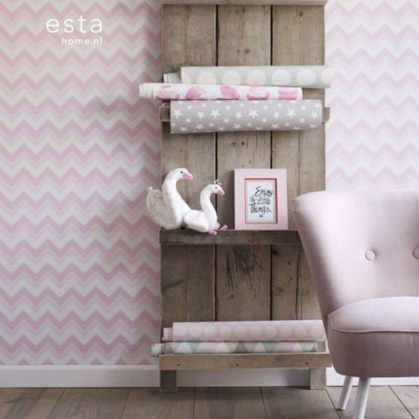 Esta for Kids Everybody Bonjour Zigzag roze