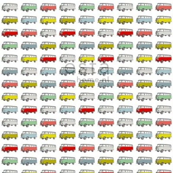 Esta for Kids Everybody Bonjour Wallpaper XXL Vintage Transporters