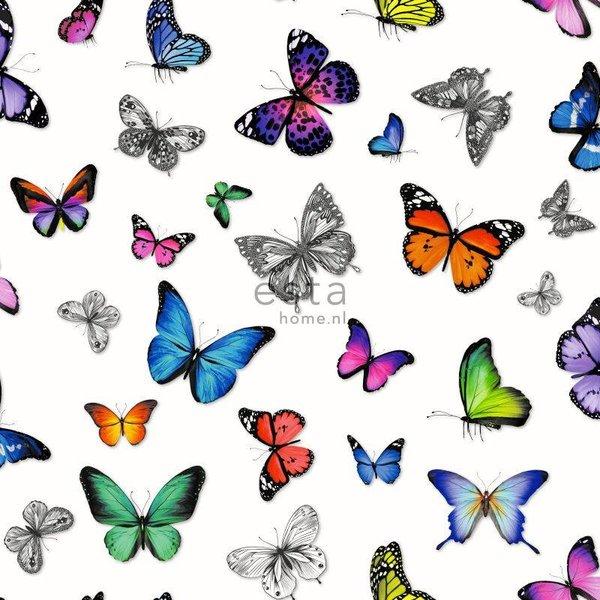 Brooklyn Bridge Vlinders kleurrijk