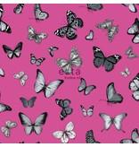Esta Home Brooklyn Bridge Vlinders Zwart/roze 138511
