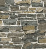 Esta Home Brooklyn Bridge Stenen muur bruin 138522