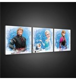 Dutch Wallcoverings Canvas set Frozen 1733S13