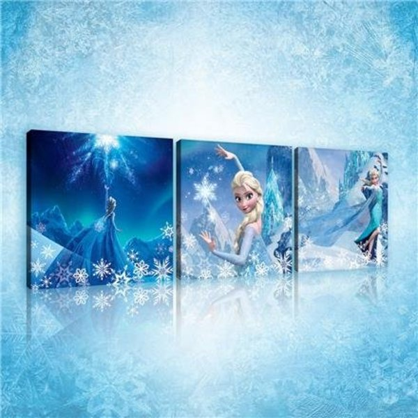 Dutch Wallcoverings Canvas set Frozen 1734S13