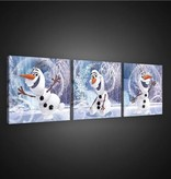 Dutch Wallcoverings Canvas set Frozen 1738S13
