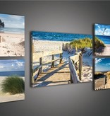 Dutch Wallcoverings Canvas set Strand 1740S14