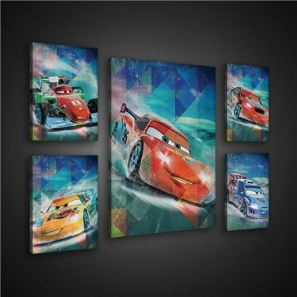 Canvas set Disney Cars 1808S14