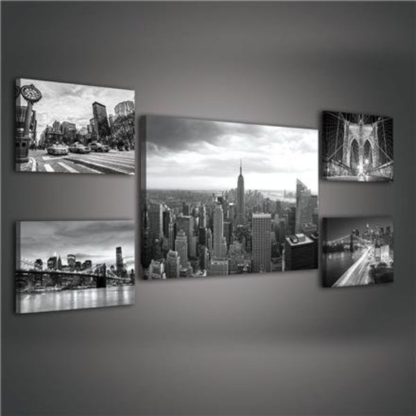 Canvas set New York City 1811S14