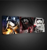 Dutch Wallcoverings Canvas set Starwars 1950S13