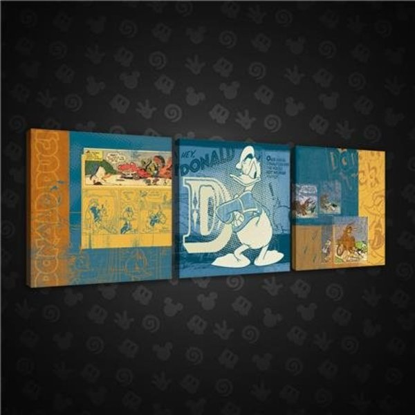 Dutch Wallcoverings Canvas set Disney Donald Duck 1997S13