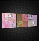 Dutch Wallcoverings Canvas set Disney Mickey 1998S13