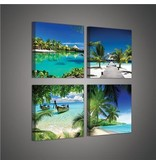Dutch Wallcoverings Canvas set Strand 2012S20