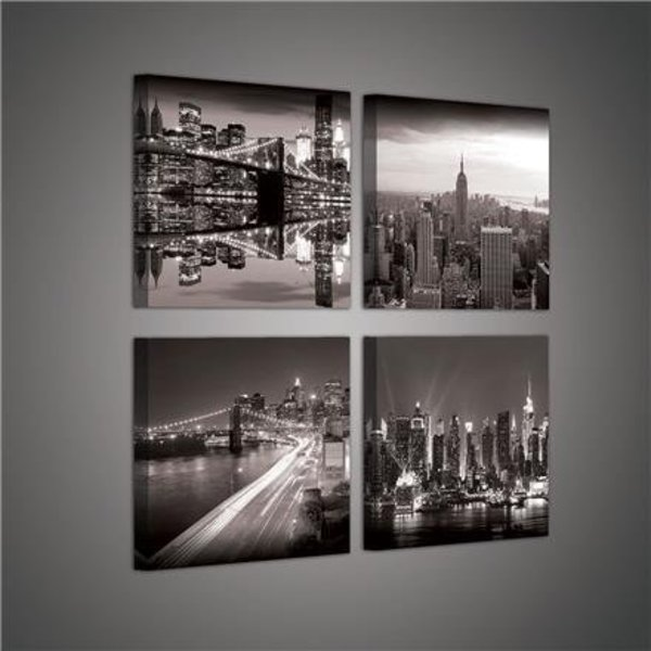Canvas set New York City 2017S20