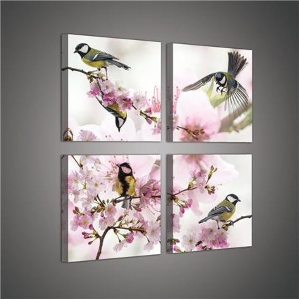 Canvas set Vogeltjes 2019S20