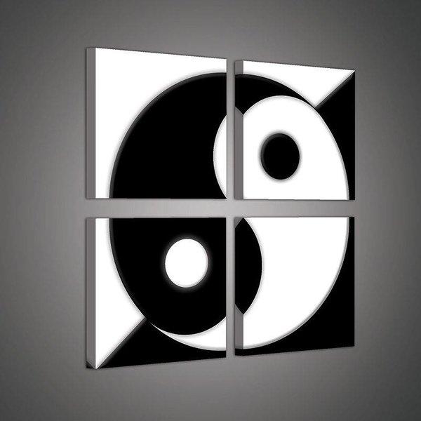 Canvas set Yin Yang 2028S20