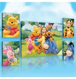 Dutch Wallcoverings Canvas set Disney Winnie the Pooh 2163S14