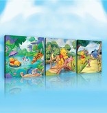 Dutch Wallcoverings Canvas set Disney Winnie the Pooh 2164S14