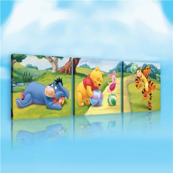 Dutch Wallcoverings Canvas set Disney Winnie the Pooh 2165S14