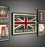 Dutch Wallcoverings Canvas set London 2167S14