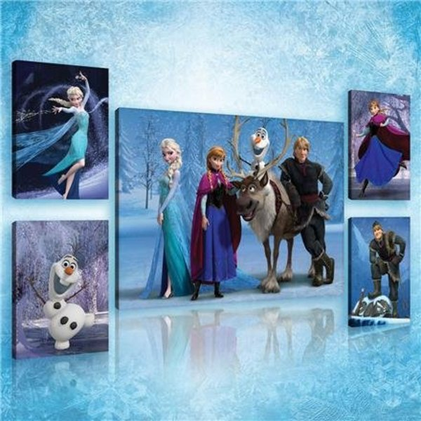 Dutch Wallcoverings Canvas set Frozen 2174S14