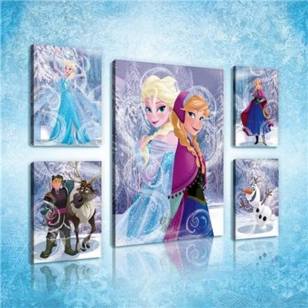 Dutch Wallcoverings Canvas set Frozen 2177S14