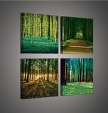 Dutch Wallcoverings Canvas set Woods 2222S20
