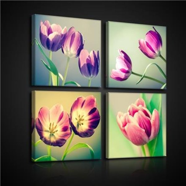Canvas set Tulpen 2574S20