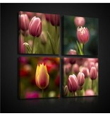 Dutch Wallcoverings Canvas set Tulpen 2575S20