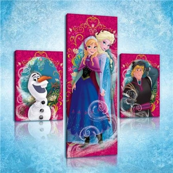 Dutch Wallcoverings Canvas set Frozen 2178S14