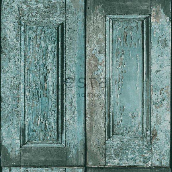 Vintage Rules! Paneeldeuren turquoise