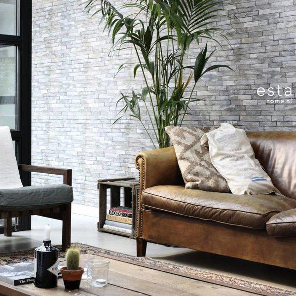 Esta Home Vintage Rules! Stukjes hout beige/donkergeel 138241
