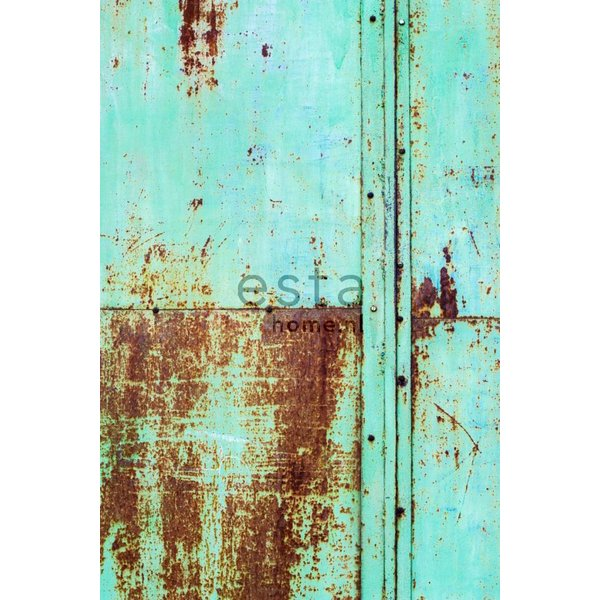 Vintage Rules! PhotowallXL Rusty metal wall