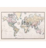 Esta Home Vintage Rules! PhotowallXL Vintage map of the world 158210