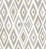 Esta Home Cabana Azteken print bruin/grijs 148630
