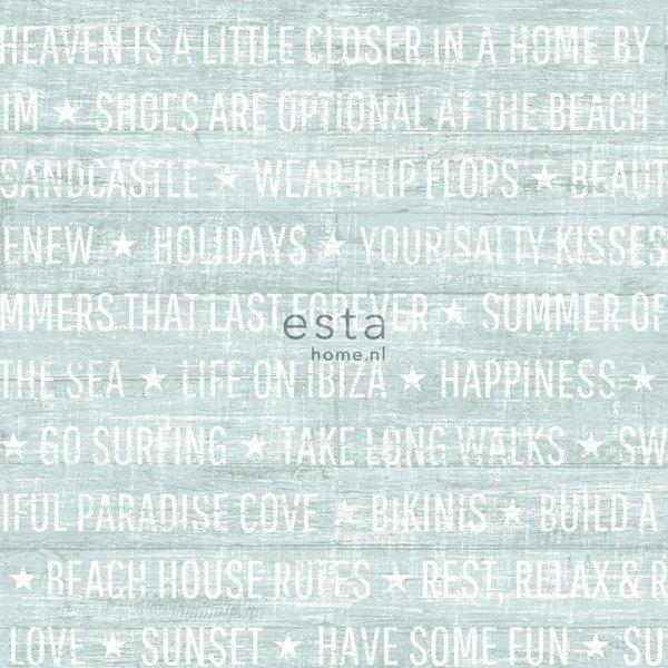 Esta Home Cabana Summer quotes mint