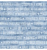 Esta Home Cabana Summer quotes blauw 148643