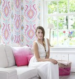 Esta Home Cabana Barok print roze/turquoise 148645