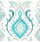 Esta Home Cabana Barok print turquoise 148646