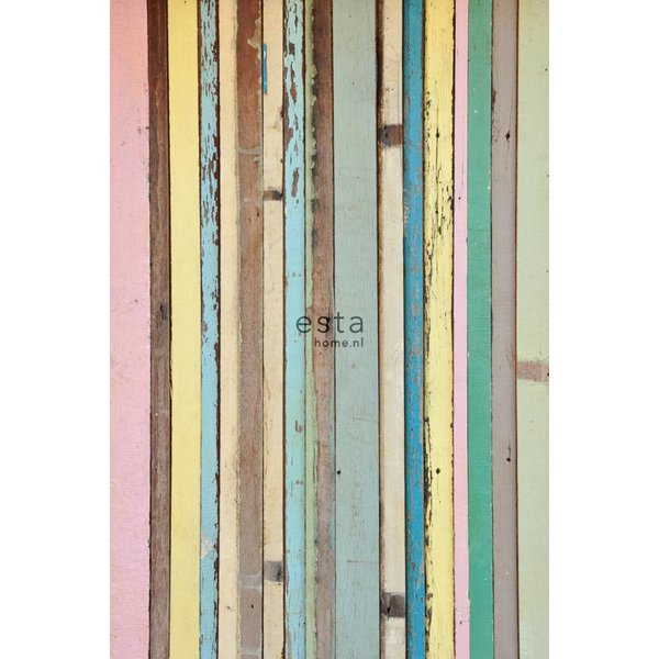 Esta Home Cabana PhotowallXL Painted wood 157703