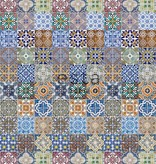 Esta Home Cabana Wallpaper XXL Spanish tiles 158603