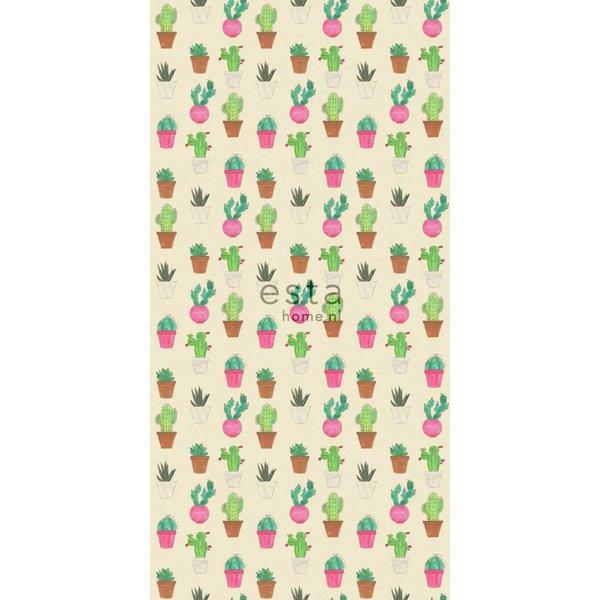 Cabana Wallpaper XXL Cactus fiesta