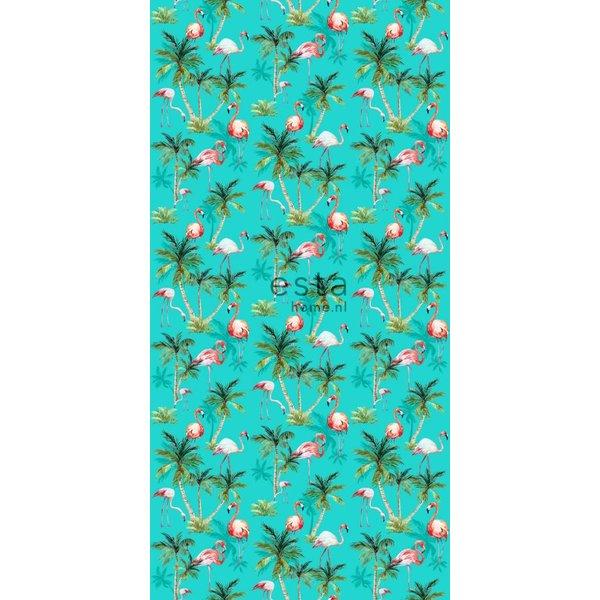 Esta Home Cabana Wallpaper XXL Flamingos 158609