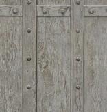 A.S. Creation Decoworld 2 Hout panelen donker bruin 30684-2