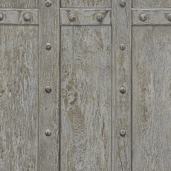 Decoworld 2 Hout panelen donker bruin