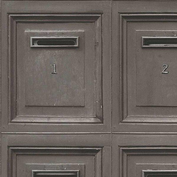 Decoworld 2 Postboxes bruin/zwart