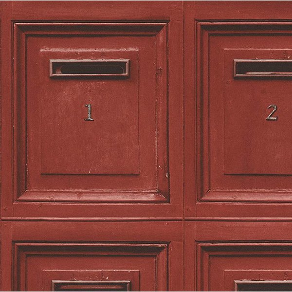 A.S. Creation Decoworld 2 Postboxes rood 30745-3