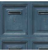 A.S. Creation Decoworld 2 Postboxes blauw 30745-4
