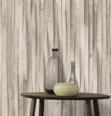 A.S. Creation Decoworld 2 Plankjes hout beige 30748-1