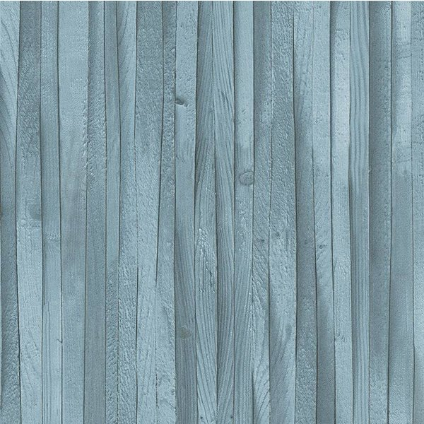A.S. Creation Decoworld 2 Plankjes hout blauw 30748-2